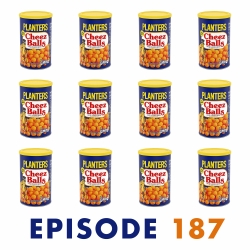 JJ Meets World: #187: Emily & Bill Brooks – 12 Containers of Cheez Balls